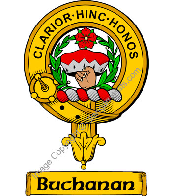 Clan Buchanan Clan Crest
