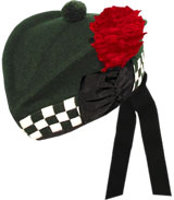 "Diced ""Special Forces Green"" Glengarry Hat"