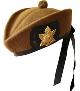 """Special Forces Green"" Glengarry Hat"