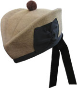 Desert Tan Glengarry Hat